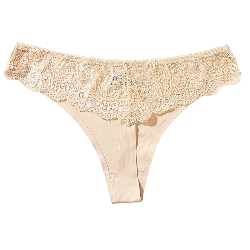 Sexy Women Lace Thong G-String Underwear Lingerie Seamless Panty Intimates Hollow Out Woman Briefs Femme Panties New Hot