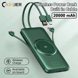 CASEIER Power Bank 20000mAh Wi