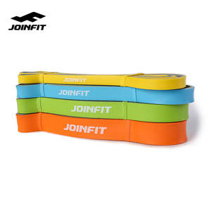 JOINFIT 2020 Hot Sale Home Fitness 100% Naturel Rubber Double Color Pull Up Resistance Bands For Home Workout