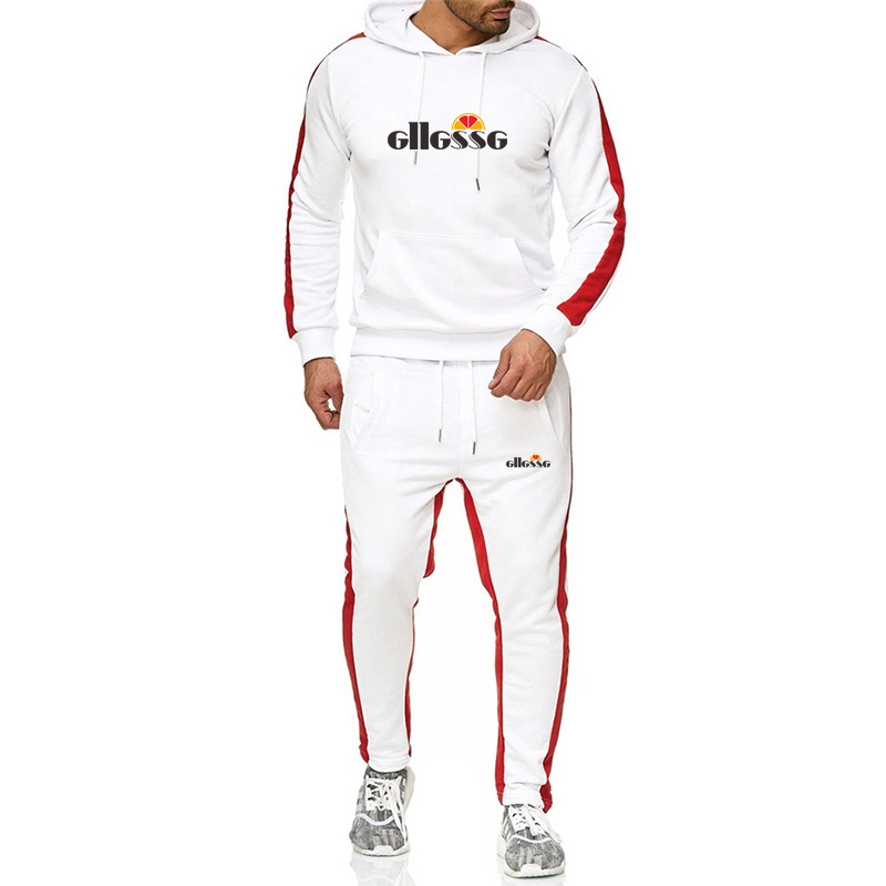 New Brand Tracksuit Men High Quality Thermal Underwear Men Sportswear Sets Fashion Hoodie+Pants Sporting Suit Malechandal Hombre