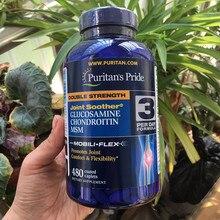 Amerikanischer herkunft Doppel Festigkeit Glucosamin Chondrotitn MSM fördert gemeinsame komfort & Flexibilität 480 stücke