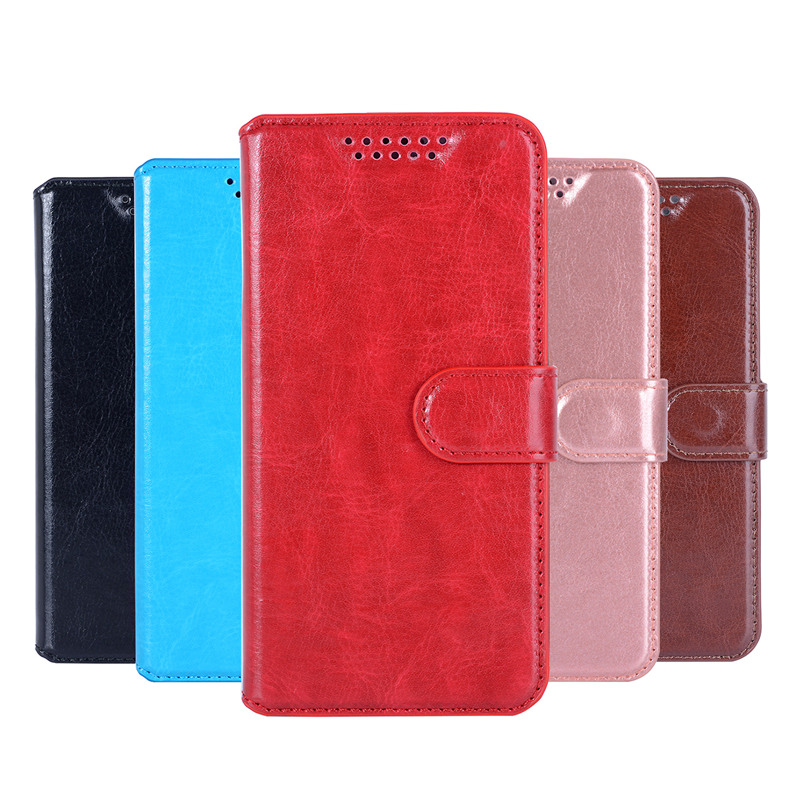 Leather Case For Alcatel One Touch 5010D Pixi 4 5.0 Case Flip Cover Soft Silicone Wallet Bags 5010D 5010 Protective cover 3G image