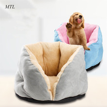 MTL pet supplies house for cats cat bed cave basket dog mat beds small dogs