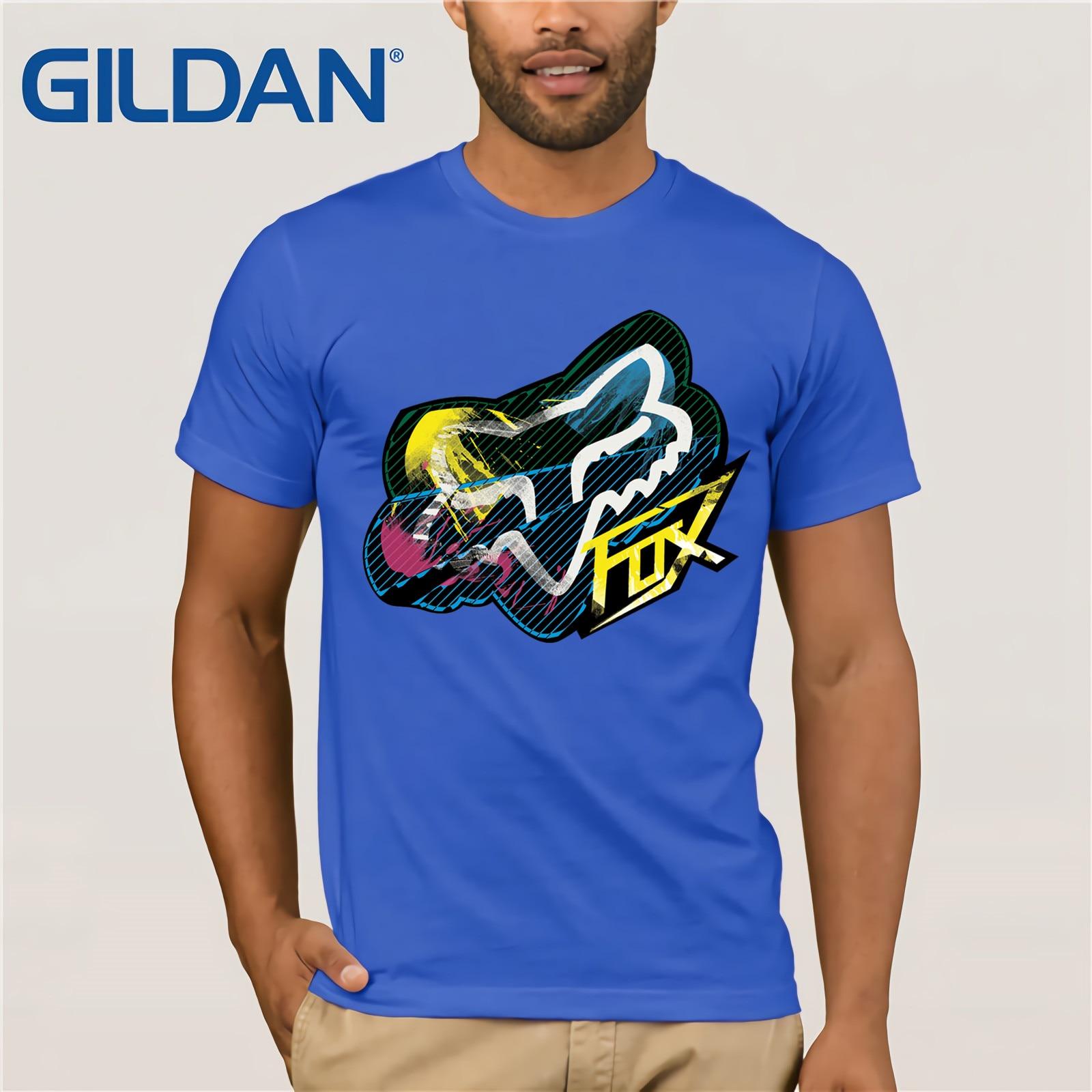 Fox Mtb Ranger Cntr Mens T-shirt - Black All Sizes Mens 2019 Fashion Brand T Shirt O-Neck 100%cotton T-Shirt Tops Tee Cool