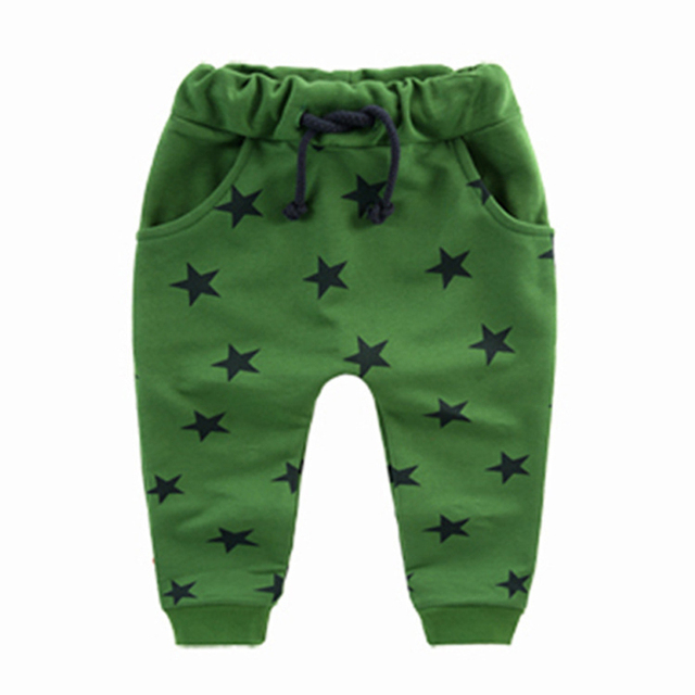 Baby Boy's Harem Star Patterned Pants 5