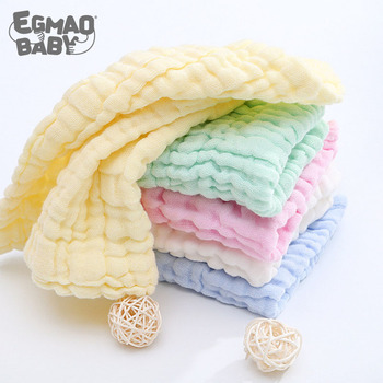 3Pcs Baby Muslin Washcloths Natural Muslin Cotton Baby Wipes Soft Newborn Baby Face Towel Muslin Washcloth for Sensitive Skin 100 pcs soft dry cotton wipes maternity baby tissue safe hygiene sensitive skin cleaning towel portable