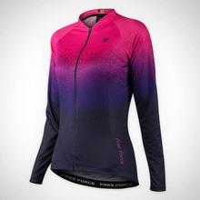 Зимняя флисовая велосипедная куртка free froce женская одежда