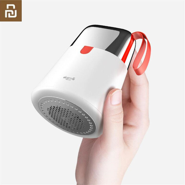 Youpin Deerma 2 في 1 صغيرة المحمولة مزيل الوبر الشعر الكرة المتقلب سترة قطع مزيل مزدوجة رئيس تصميم USB تهمة قابلة للشحن