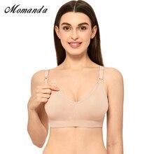 Biustonosz do karmienia piersią komfort kobiet wsparcie macierzyński Wirefree bez szwu stanik do karmienia