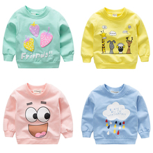 Baby Girls Toddler Sweatshirts 2020 Spring Autumn Children Long Sleeves Pullover