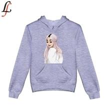 Fashion Printed Boys Girl Hoodies Autumn/Winter Candy Color Sweatshirt With Ariana