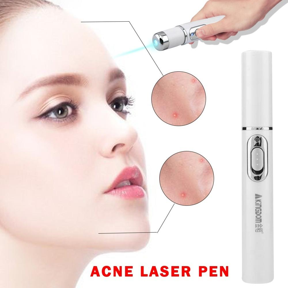1Pcs Medical Blue Light Therapy Varicose Veins Treatment Laser Pen Soft Scar Wrinkle Removal Treatment in Face Skin Care Tools from Beauty Health