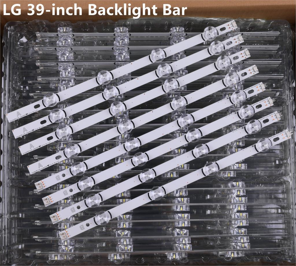 New 8 PCS/set LED Backlight Strip Bar Perfect Compatible For LG 39 Inch TV 39LB561V 39LB5800 Innotek DRT 3.0 39 Inch A B