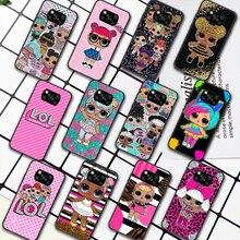 LOL Cute Cartoon Doll Girl Phone Case For Xiaomi Mi 8 9 Note 10 A3 9T 10T 11 Poco x3 Lite Pro NFC Ultra black Back Soft
