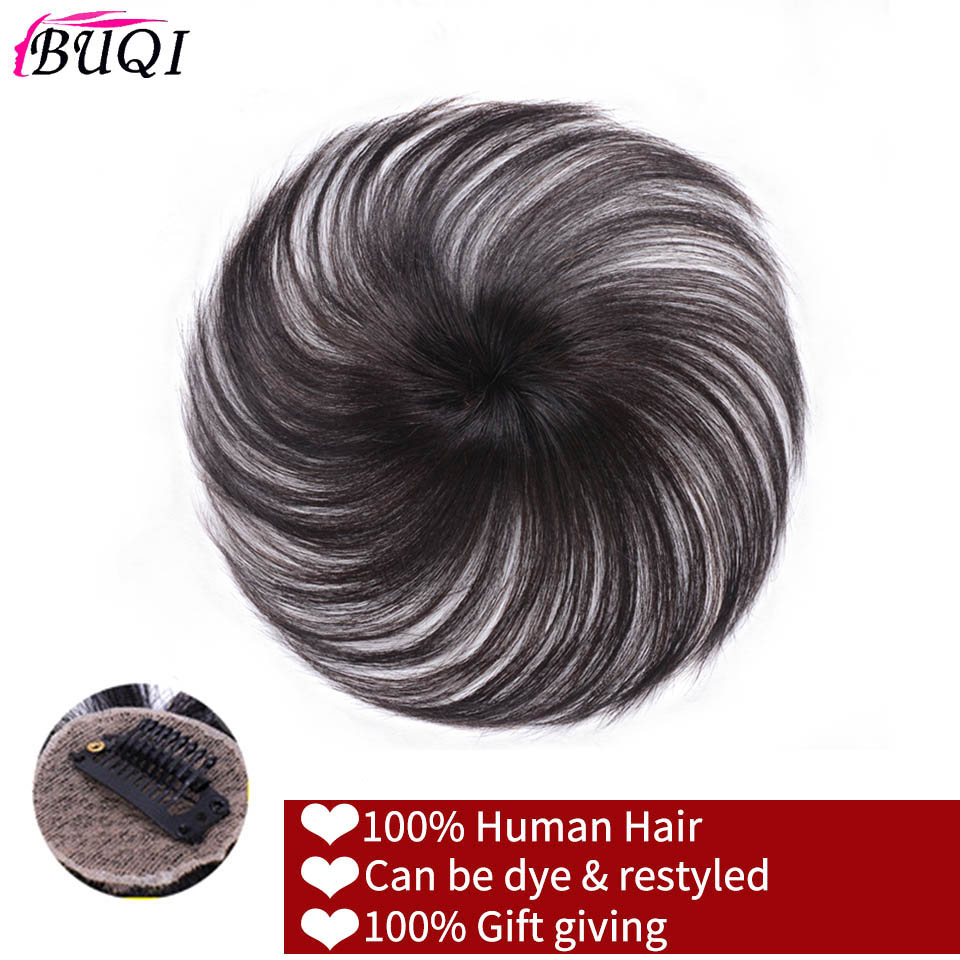 BUQI Seamless Invisibility Comfortable Of True Hair Top Cover Brown And Black Color Brazilian Remy Hair For Black Women