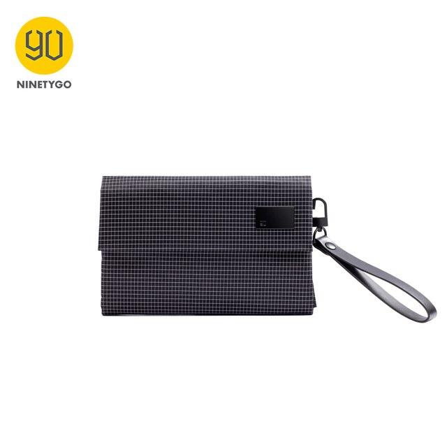 NINETYGO 90FUN الرقمية حقيبة التخزين مقاوم للماء سعة كبيرة قرص USB الهاتف المحمول الأعمال السفر عادية كلية النساء الرجال
