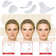 12/27/24pcs Invisible Thin Face Stickers Facial Line Wrinkle Sagging Skin V-Shape Face Lift Tape Face Lift Wrinkle Removal Tools