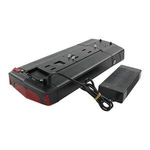 "Image 5 - Arka raf elektrikli eBike pil 36V 17.5Ah 14.5Ah 13Ah bisiklet pil ile 20 28 ""2 katmanlı bagaj 500W 350W 250W Motor"
