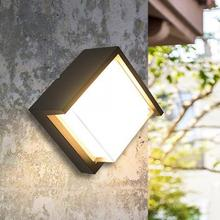 AC 110-240 5W LED Outdoor Wall Light IP65 Waterproof Lamp For Yard Balcony Stair Corridor