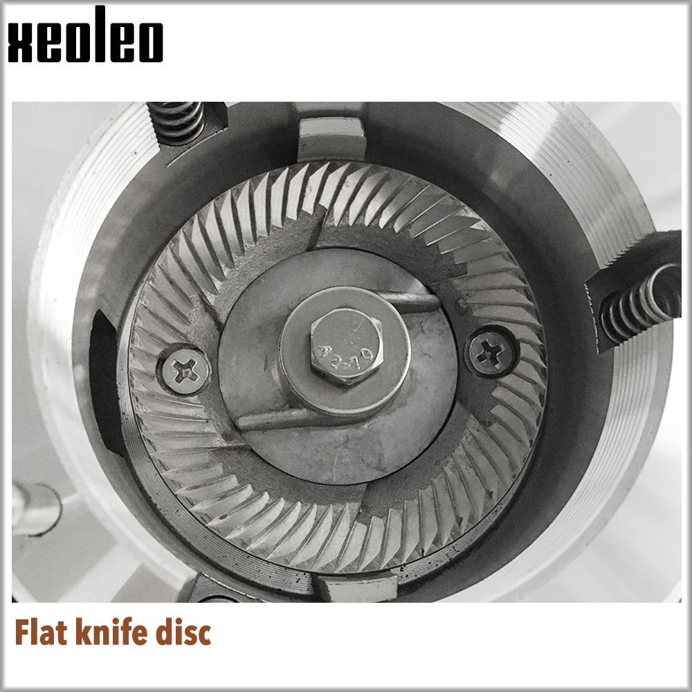 Image 4 - XEOLEO Electric Coffee grinder Turkish coffee grinder Coffee Milling machine Flat Burr grinder Espresso maker Miller Black/Redelectric coffee grindercoffee grinderburr grinder -