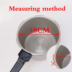 Cookers Sealing-Ring Rubber-Gasket 32cm-Pressure Kitchen Silicone White 18-20-22 24-26