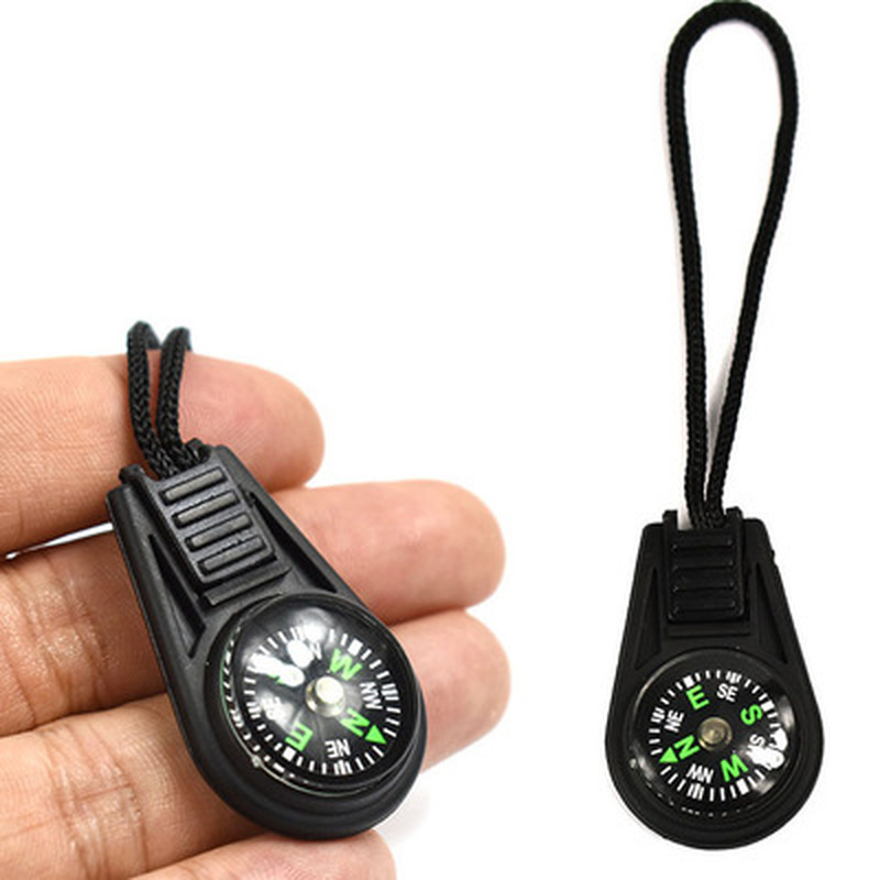 Mini Compass Hiker Key-Chains Useful-Tool Travel Hiking Outdoor Portable Camping