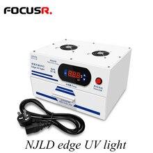 NJLD bord UV lumière OCA vague sèche pour SAMSUNG bord écran verre extérieur OCA stratification téléphone réparation outils ensembles