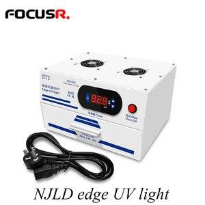 Image 1 - NJLD edge UV Light OCA Wave suszarka do SAMSUNG edge Screen zewnętrzne szkło OCA laminowanie zestawy narzędzi do naprawy telefonu