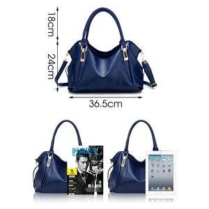 Image 5 - TTOU Designer Women Handbag Female PU Leather Bags Handbags Ladies Portable Shoulder Bag Office Ladies Hobos Bag Totes