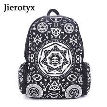 Jierotyx женские школьные ранцы для подростков уникальный рюкзак