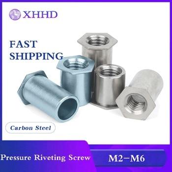 Through Hole Pressure Riveting Screw M2 M2.5 M3 M4 M5 M6 304 Stainless Steel