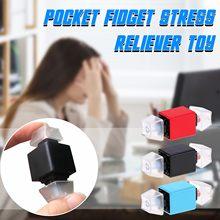 Clavier de poche en plastique pour enfant et adulte, jouet Unique, décompression, autisme, anti-stress, 3 couleurs