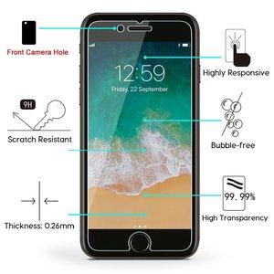 Image 5 - 9H Gehärtetem Glas 2,5 D 9H Ultra dünne Für iPhone Xs Max XR 8 7 6 6s Plus 6 6s 5 5s SE 4 4S Premium Screen Protector galss