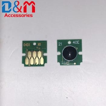 6Pcs Refillable ink cartridge disposable chip 2BK+KCMY T9481 T9482 T9483 T9484 for Epson WF-C5790a C5290a C5790 C5210 C5710 Chip