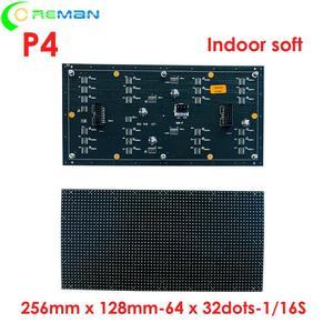 Image 3 - Thâm quyến Quảng Châu Đèn Led nhà xưởng sản xuất trong nhà cong mềm mại Màn hình LED MODULE P4 64x32 32x32 LED ma Trận