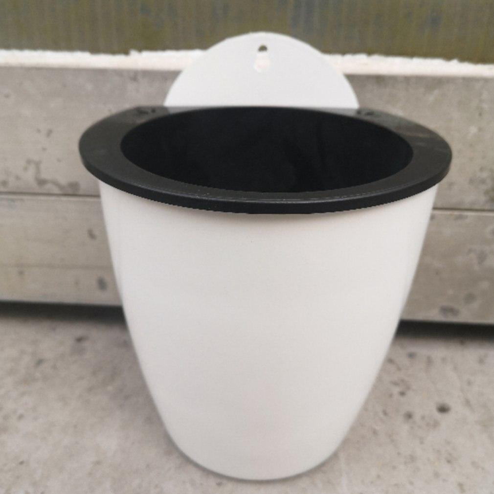 Купить с кэшбэком Modern Design Home Wall Hanging Design Flower Pot Round Shape Resin Hydroponics Chlorophytum Potted Flower Pots Hot Sale