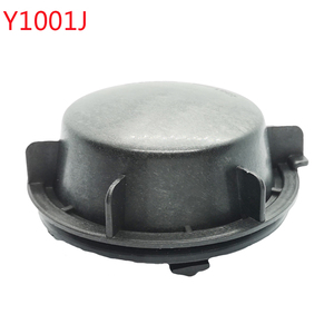 Image 1 - 1 pc for skoda superb Headlamp dust cover waterproof cap Xenon lamp LED bulb extension dust cover Bulb trim panel Lamp shell