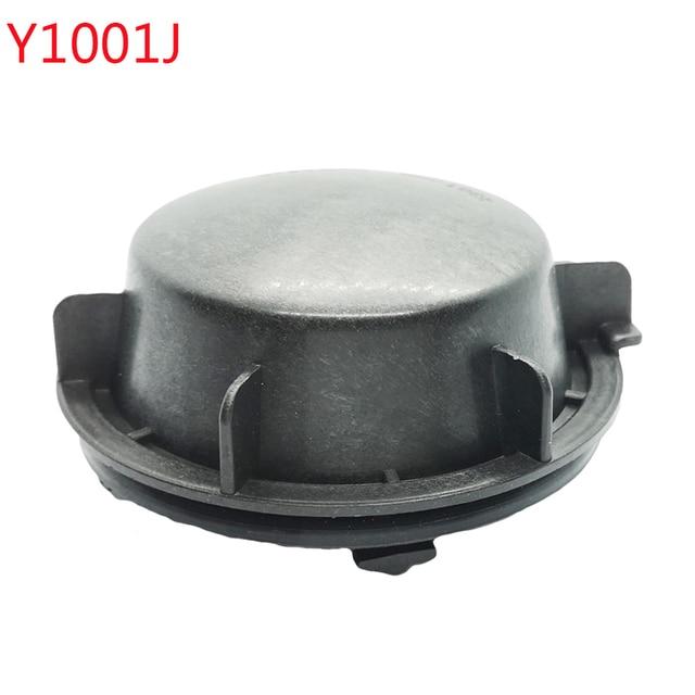 1 pc for skoda superb Headlamp dust cover waterproof cap Xenon lamp LED bulb extension dust cover Bulb trim panel Lamp shell