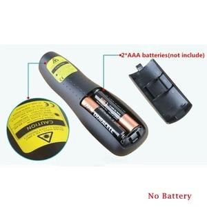 Image 3 - R400 2.4Ghz USB Wireless Presenterปากกาเลเซอร์PPTรีโมทคอนโทรลสีแดงเลเซอร์สำหรับการนำเสนอPowerPoint