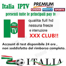 italy iptv m3u smart android tv box italia mediaset premium german spain adult xxx iptv enigma mag smart tv pc ios(China)