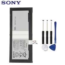 все цены на Sony Original Replacement Tablet Battery For SONY Xperia Z4 Tablet Ultra SGP712 SGP771 LIS2210ERPX Rechargeable Battery 6000mAh онлайн