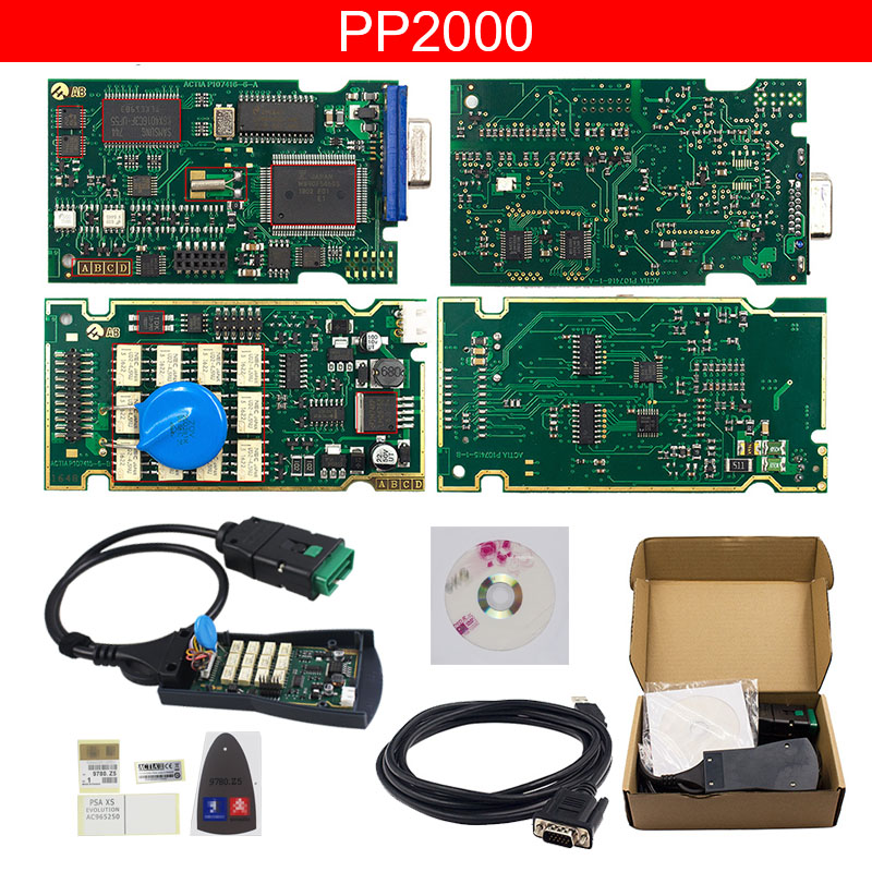 Image 3 - Lexia 3 Full Chip Lexia3 V48/V25 Newest Diagbox V7.83 PP2000 Lexia 3 Firmware for Peugeot for Citroen Diagnostic Tool-in Car Diagnostic Cables & Connectors from Automobiles & Motorcycles