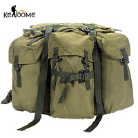 Canvas Hiking Backpack Hunting Bag Tactical Military Rucksack Camouflage Army Camping Pack Commute Travel Outdoor Sport XA180D|Climbing Bags|Sports & Entertainment -
