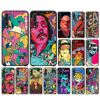 Fear and Loathing in Las Vegas Phone Case For Huawei P20 P30 P9 P10 plus P8 lite P9 lite Psmart 2019 P20 pro P10 lite image
