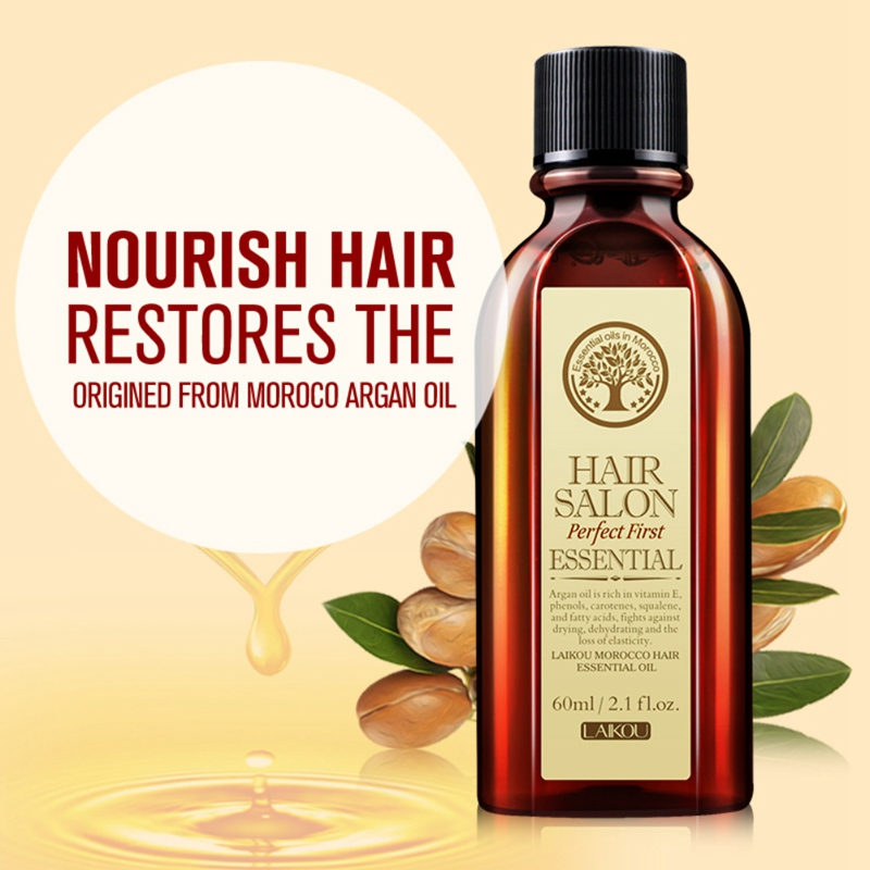 Pure Moroccan Argan Oil Care Moisturizing Hair Oil Hair and Scalp Treatment Easily Absorbed Oils Increase Gloss Repair Hair Care