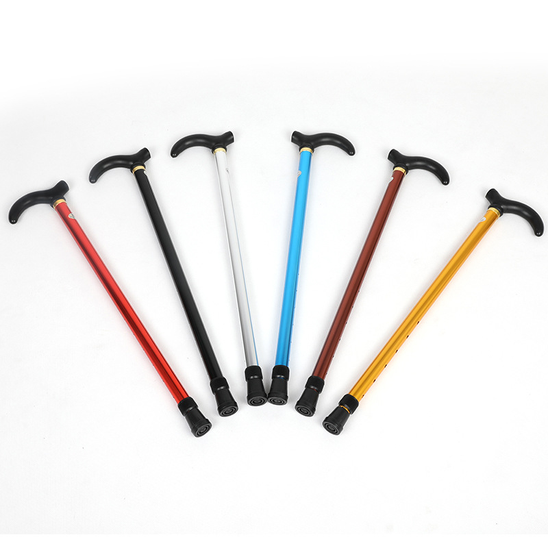 High Quality Telescopic Cane 2 Sections Hiking Tourism For Climbing Elderly Equipment EK-New