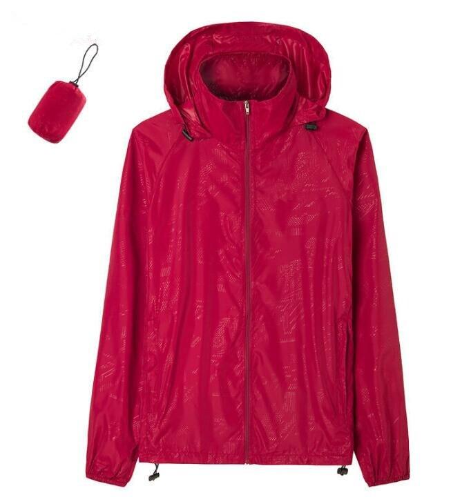 2019 New Summer Women Long Sleeve Raincoats Jackets Coats Fashion Windproof Hoodies Ladies Coats XS-XXXL