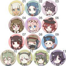 58MM Anime Danganronpa broche broche Badge accessoires pour vêtements sac à dos décoration enfants cadeau