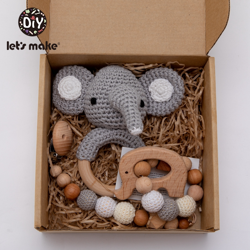 let's-make-3pc-set-beech-wood-baby-rattley-crochet-animal-pacifier-chain-holder-for-nipples-mobiles-stroller-accessor-baby-toys