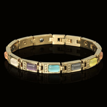 Direct Selling Colored Cat Eye Magnetic Fast-selling Health Care Bracelet Multifunctional Handwear Alloy Jewelry
